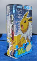 Pokemon Jolteon Meiji Mini Candy Box