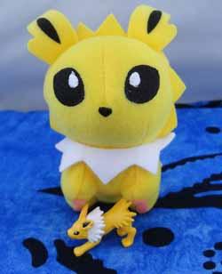 Pokemon Jolteon Mini Pokedoll Plush