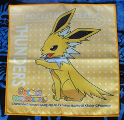 Pokemon Jolteon Mini Towel Collection Hand Towel