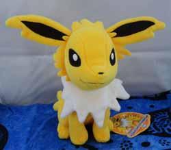 Pokemon Jolteon Sitting Tomy Plush