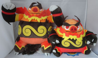 Pokemon Emboar PokeCen Plush and Pokedoll
