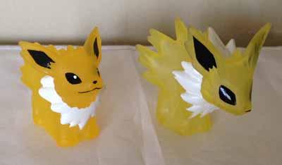 Pokemon Jolteon Clear Kids Figures