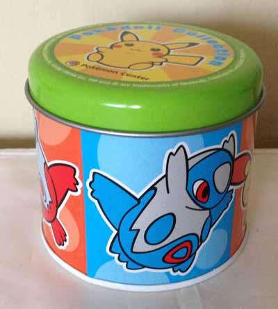 Pokemon Pokedoll Tin