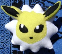 Pokemon Jolteon Custom Pillow Plush