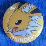 Pokemon Jolteon Movic Badge