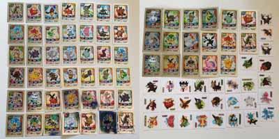Pokemon Korean Pokemon Learn Hanzi/Kanji Stickers