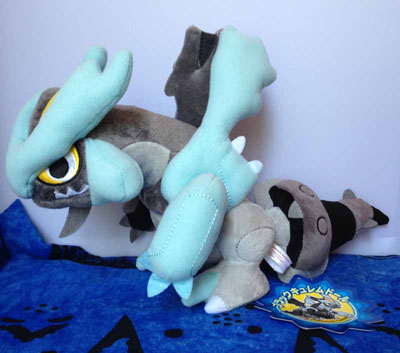 Pokemon Black Kyurem Oversized Pokedoll (Japanese)