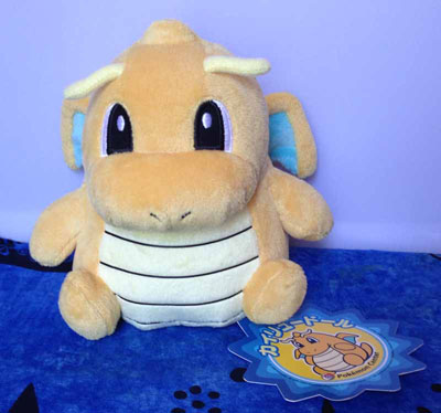 Pokemon Dragonite Pokedoll (Japanese)