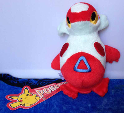 Pokemon Latias Velour Pokedoll (USA)