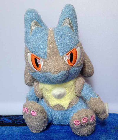 Pokemon Lucario Soft (Yawaraka) Plush