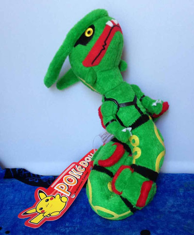 Pokemon Rayquaza Pokedoll Plush (USA)