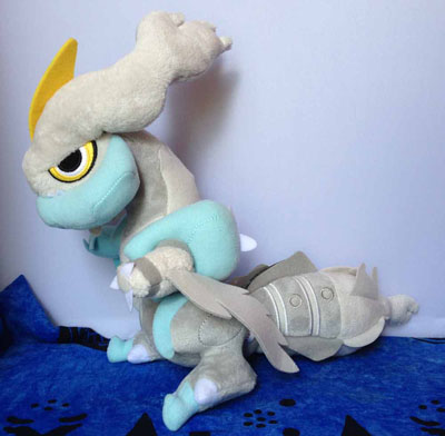 Pokemon White Kyurem Oversized Pokedoll (Japanese)