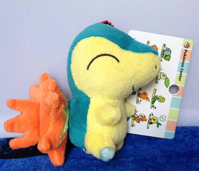 Pokemon Cyndaquil Walky HGSS Keychain Plush