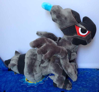 Pokemon Zekrom Oversized Pokedoll (Japanese)
