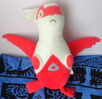 Pokemon Latias UFO Plush