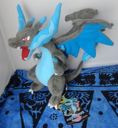 Pokemon Mega Charizard X Plush