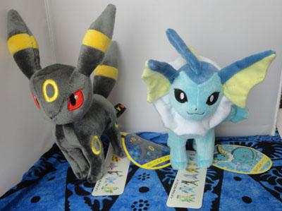 Pokemon Pokemon Center Umbreon and Vaporeon