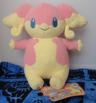 Pokemon Fluffy Audino Plush