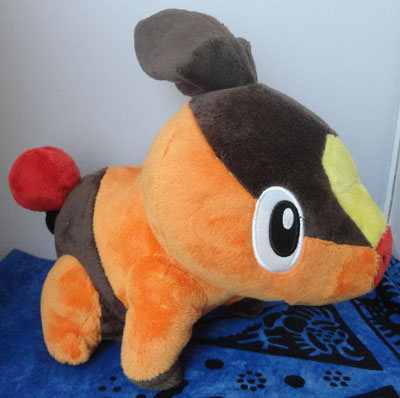 Pokemon Talking Tepig Plush