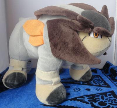 Pokemon Terrakion Pokemon Center Plush