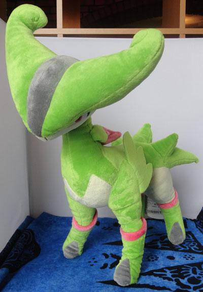 Pokemon Virizion Pokemon Center Plush