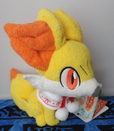 Pokemon Christmas Fennekin Plush