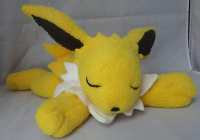 Pokemon Yutaka Yumi Sleepy Jolteon Plush