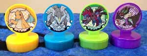 Pokemon BW and XY Retsuden Stamps