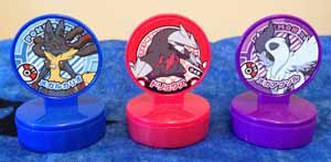 Pokemon DP and XY Retsuden Stamps