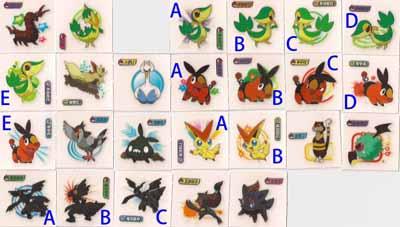 Pokemon Korean Mini Stickers