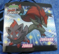 Pokemon Zoroark and Zorua Amada Sticker Book