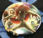 Pokemon Zoroark, Raikou, Entei, Suicune, Celebi Can Badge