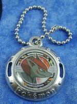 Pokemon Zoroark Metal Emblem (silver)