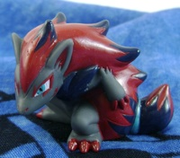 Pokemon Zoroark Pokemon Sukui Scooping Figure