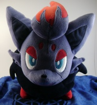 Pokemon Zorua Zoroa Talking Tomy Plush